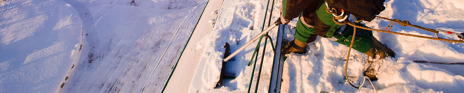 Garden City Kansas Commercial Roof Snow Removal